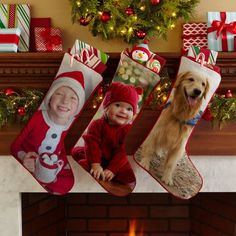 Need a unique gift? Send Picture Perfect Photo Personalized Stocking and other personalized gifts at Personal Creations. Cozy Christmas, Christmas Photos, Christmas Stockings, Christmas Crafts, Xmas, Personalized Stockings, Personalized Christmas Gifts, Personalized Items, Diy Photo