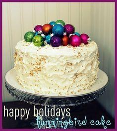 holiday hummingbird cake