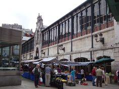 Mercado de Abastos de Santander  #Cantabria #Spain Plaza, Street View, City, Earth, Tourism, Cities