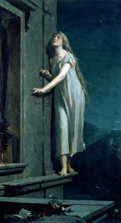 gin85:  Sleepwalker by Maxmilian Pirner This is one of my favourite paintings. I've discovered Maxmilian Pirner when I was writting an essay for my art history lecture and I just fell in love with his paintings.