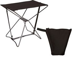 Portable Lightweight Camping Stool With Carry Case By Trademark Innovations (Black) Trademark Innovations http://www.amazon.com/dp/B00O2D8DXC/ref=cm_sw_r_pi_dp_UwOovb014HD7S