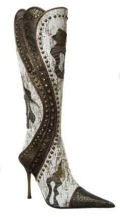 1006 Women knee-high boots El Dantes, Made in Spain ~ Another incredible piece