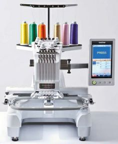 embroidery machine pr 655