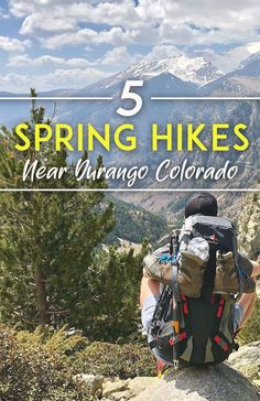 Durango, Colorado is home to thousands of hiking trails weaving through the San Juan Mountains. Enjoy these spring hikes in Durango on your next trip. Colorado Backpacking, Backpacking Trails, Colorado Trail, Durango Colorado, Hiking Trails, Living In Colorado, Best Hikes, Day Trips, Outdoors