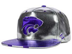 wholesale dealer b06d9 16d86 Kansas State University Zephyr Snapbacks, Wildcats Snapback Hats, Zephyr  Flat Billed Hat