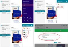 Usar en Windows 8 Gmail, Hotmail y otros