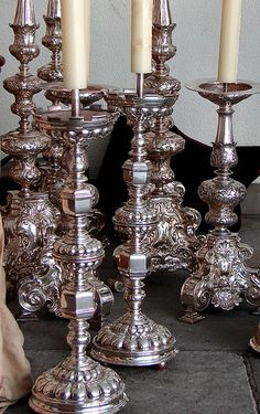 Forest of Silver Candlesticks