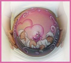 Body Paint para embarazadas: fotos ideas (Foto 6/18) | Ella Hoy