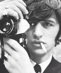 Ringo Starr http://colorinthisblackandwhiteworld.tumblr.com/post/57656565058/ringo-x-camera