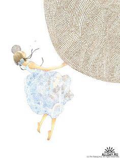 Японский художник Rie Nakajima