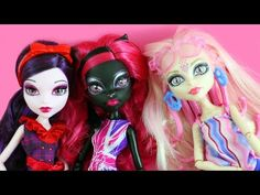 Monster High Doll Review: Monster High Ghoul Celebrities in London - YouTube