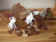 Pferde basteln