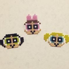 The Powerpuff Girls perler beads by pool_om