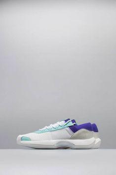 separation shoes de13b 85baa Adidas consortium x nice kicks crazy 1 adv mens shoe - whitetealpurple