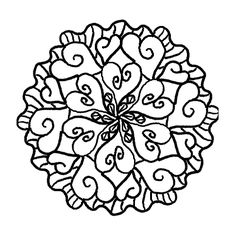 Mandala Coloring Pages-- these would look great in an embroidery hoop!