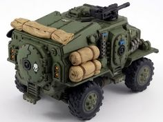 Showcase: Astra Militarum Taurox Conversion ~ Elite 40,000