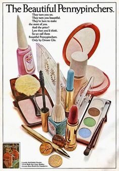 Woodbury Dream Glo Cosmetics Ad  A very inexpensive line of make-up for retail.