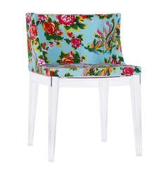 Cadeira Mademoiselle - Floral Azul - R$ 549,00