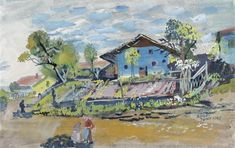 Oskar Laske : Galerie bei der Albertina Albertina, Portrait, Painting, Farm Cottage, Artworks, Canvas, Pictures, Headshot Photography, Painting Art