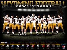 BTS: University of Wyoming Football Poster Football Team Pictures, Football Poses, Football Program, Softball Pics, Softball Stuff, Volleyball Pictures, Girls Basketball, Softball Players, Girls Softball