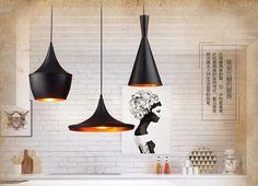 Design by Tom Dixon Pendant Lamp Beat Light Tom Dixon Copper Shade Chandelier Lights