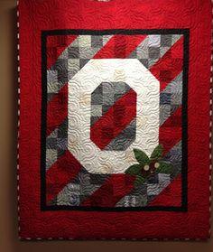 Ohio State Quilt- so pretty!!!!!