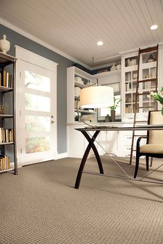 """Caress Collection carpeting style """"Artisan"""" color Cornwall - by Shaw Floors"""