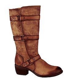 Nurture Dorado Leather Boots #Dillards