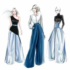 58 Ideas Fashion Sketchbook Ideas Inspiration Drawings For 2019 Dress Design Sketches, Fashion Design Sketchbook, Fashion Design Drawings, Fashion Sketches, Clothes Design Drawing, Fashion Art, Trendy Fashion, Fashion Models, Fashion Outfits
