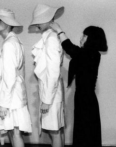 """""""I never lose my ability to rebel, I get angry and that anger becomes my energy for certain. I wouldn't be able to create anything if I stop rebelling.""""  — Rei Kawakubo of Comme des Garçons, Japan 川久保玲"""
