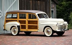 1947 Ford V-8 Model 79A Super Deluxe Station Wagon.