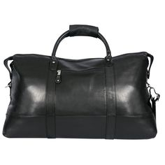 Canyon Cabin 22-inch Lightweight Leather Carry-on Duffel - Overstock™ Shopping - Great Deals on Duffel Bags