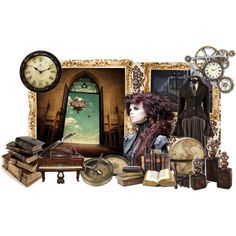 """Steampunk: The Sky is Your Home"" by miss-abbey on Polyvore"