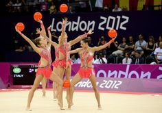 Nazionale ginnastica ritmica Italia - Olympic Games London 2012