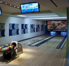 :private bowling alley
