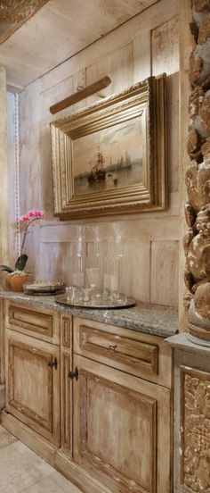Old World, Mediterranean, Italian, Spanish & Tuscan Homes & Decor Şub Italian Home Decor, Rustic Italian, Mediterranean Home Decor, Tuscan Style Homes, Tuscan House, Tuscan Home Decorating, Kitchen Decor, Kitchen Design, Home Design Magazines