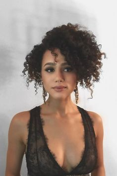 Nathalie Emmanuel - Most Beautiful Women on Earth Beautiful Celebrities, Beautiful Actresses, 1 Inch Curling Iron, Curly Hair Styles, Natural Hair Styles, Nathalie Emmanuel, Beautiful Black Women, Prom Hair, Hair Inspiration
