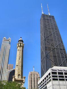 CHICAGO: John Hancock Tower for dinner.