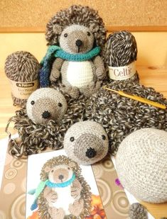 """Képtalálat a következőre: """"crochet hedgehog free pattern"""" Crochet Bee, Cute Crochet, Crochet Crafts, Crochet Dolls, Yarn Crafts, Crochet Hedgehog, Hedgehog Craft, Knitting Projects, Crochet Projects"""