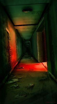 paisaje urbano ArtStation - Welcome to my crib, Chris Doretz Cinematic Photography, Dark Photography, Night Photography, Dark Fantasy Art, Dark Art, Wattpad Background, City Aesthetic, Horror Art, Abandoned Places