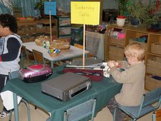 Tinker Table: Irresistible Ideas for play based learning » Blog Archive » the tinkering table