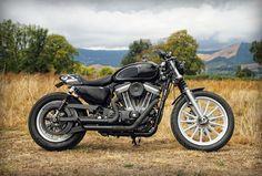 ϟ Hell Kustom ϟ: Harley Davidson XL883 By The Pacific Motorcycle Co...