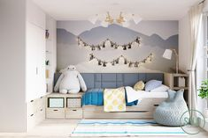 8 Creative Children's Room Decoration With Cute Designs When it works with the room's decoration style, you may use copper objects. If you choose to paint the whole room, beginning from the ceiling and work. Room Interior Design, Kids Room Design, Diy Kids Furniture, Furniture Layout, Bedroom Furniture, Childrens Room Decor, Kid Spaces, Kids Bedroom, Decoration