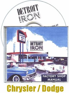 #Chrysler Factory Service Manuals 1941-1979 on CD-ROM