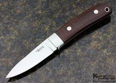 """S.R. Johnson Custom Knife Snakewood """"Backpacker"""" - S.R. Johnson custom knife - image 1"""