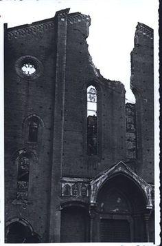 Bologna bombardata, piazza San Francesco