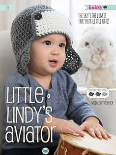 *Free Crochet Pattern: Little Lindy's Aviator by Salena Baca
