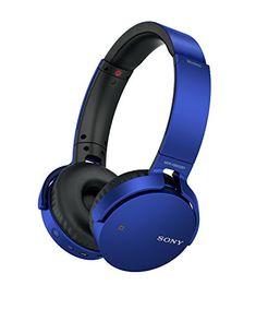 awesome Sony - Auriculares (extra bass, bluetooth y NFC, diseño plegable,hasta 30 horas de autonomía)