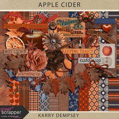 FREEBIES PU: Karry Dempsey | Pixel Scrapper digital scrapbooking forums - page 8. Apple Cider Kit. Fall, autumn. *