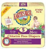 Earth's Best Diapers Case Size 5 104ct.